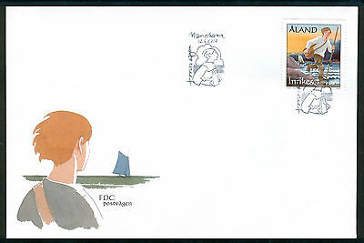 ALAND 2010 stamp The Mail Route on FDC Sailing