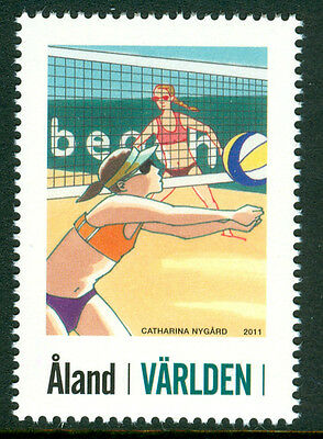 ALAND 2011 stamp My Stamps Beach Volleyball um (NH) mint