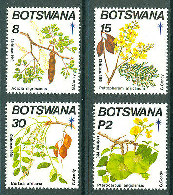 BOTSWANA 1990 stamps Christmas Flowering Trees um (NH) mint