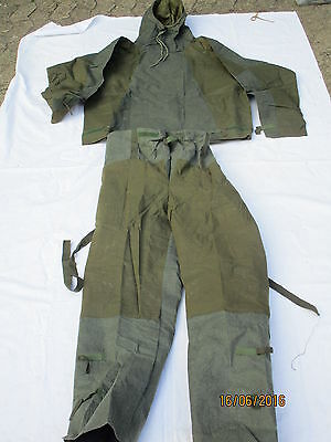 Smock & Trousers Protective NBC,No.1 MK2,Size: Small, date 1973/1970