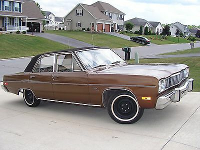 1975 Plymouth Other  1975 Plymouth Valiant Custom 318 V8 57k Actual Original Miles Great Car w/Video