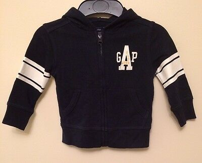 Boy's Hooded Top. Gap. Age 12 To 18 Months.