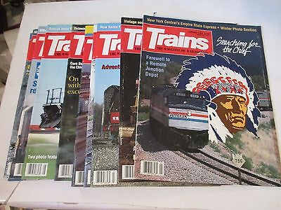 TRAINS The Magazine of Railroading, 1992,12, ISSUES,COMPLETE YEAR