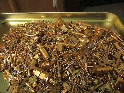 230+ grams Of Gold Plated Computer & Military Connectors And Pins,1980's and up