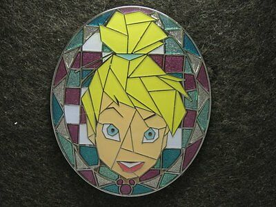 Disney Pin 2009 HKDL Mystery Tin Pin Mosaic Collection - Tinkerbell