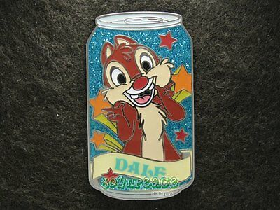 Disney Pin 2009 HKDL Mystery Tin Pin Soda Can Collection - Dale