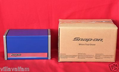 Snap On Royal Blue Mini Micro Top Chest Tool Box  Brand New !!!!!