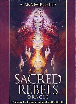NEW Sacred Rebels Oracle Cards Deck Alana Fairchild Autumn Skye Morrison