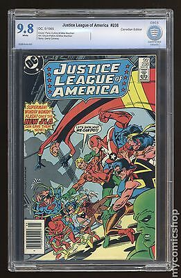 Justice League of America (1960 1st Series) Canadian Price Variant #238 CBCS 9.8