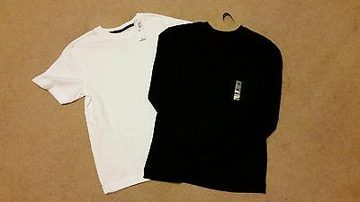 Old Navy Boys T-shirts-Black is L/S, White is S/S-Medium