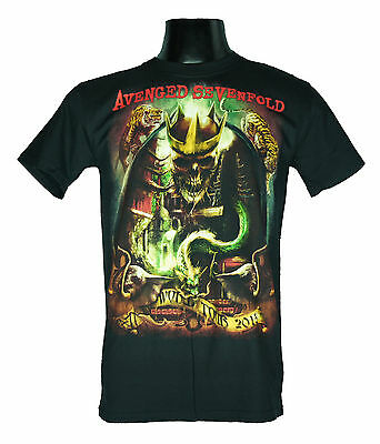 Avenged Sevenfold Extra Large Xl New! T-Shirt (Hail To The King World Tour) 1476