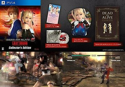 DEAD OR ALIVE DOA 5 Japan Game KOEI Last Round Collector's Edition PS4 PS 4