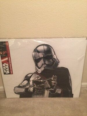 Star Wars Captain Phasma Display Lifesize Standup Cardboard Cutout Standee Rogue