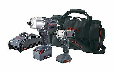 "Ingersoll Rand IQV1220-2012 CORDLESS COMBO IMPACT KIT 1/2"" W7150 AND 1/4"" W1110"