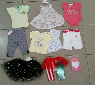 BULK!!! Baby Girls Clothes All Brand New - Size 00 - Closing Down Sale!!!