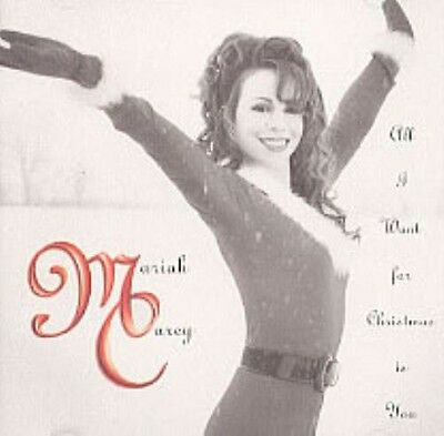 MARIAH CAREY - All I Want For Christmas Is You - 1994 USA 1trk Promo Only Cd