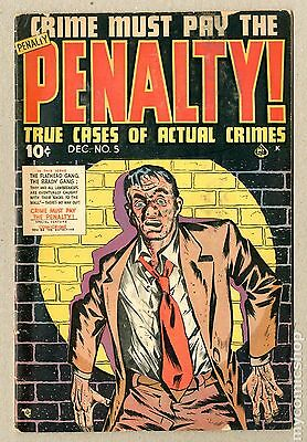 Crime Must Pay The Penalty (1948) #5 GD 2.0
