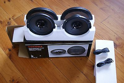 Dual cone Car stereo speaker system 2x60W