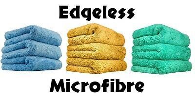 Edgeless Microfibre Happy Ending Towels Ultra Soft & Plush 40x40cm Chemical Guys