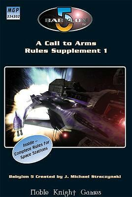 Mongoose Babylon 5 Call to Arms Rules Supplement #1 SC VG+