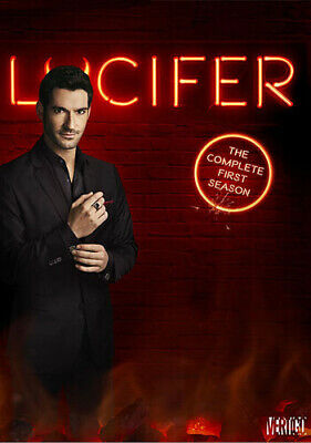 Lucifer: The Complete First Season - 3 DISC SET (2016, DVD NEW)