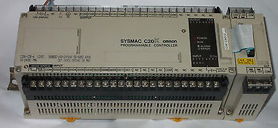 Omron Sysmac C20K-CDR-A Programmable Controller PLC & C4K-OR2 Output Unit