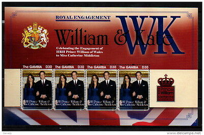 Gambia 2011 William Kate Mnh
