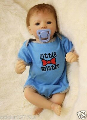 """Realistic 20""""Reborn Newborn Baby Doll Soft Vinyl silicone Lovely Appease Present"""