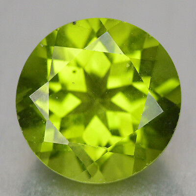 1.98 Cts Unheated Earthmined Parrot Green Color Natural Peridot-Vs