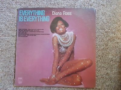 Diana Ross 1970 Vinyl LP Everything Is Everything