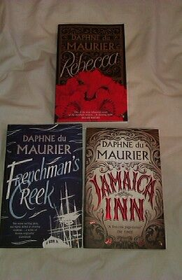 Set Of 3 Daphe Du Maurier Timeless Classics Christmas Gifts, Rrp £8.99 Each