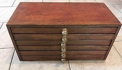 Wood Coin Box With Pull Out Draws