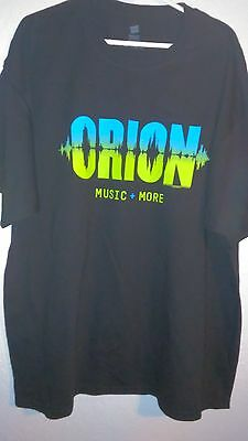 Metallica 2012 Orion 2XL Concert T Shirt Never Worn - Atlantic City