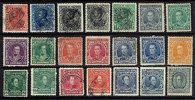 (E932) Venezuela Stamps - Great Early Selection Of 115 - Good Value Lot To Sort