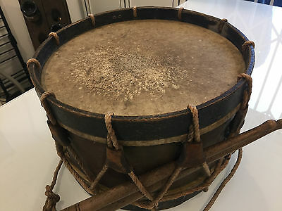 French military marching drum 19th century (ca. 1870s)