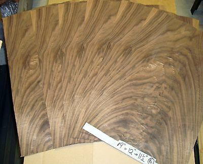 *real Wood Veneer Walnut Crotch For Guitars Restorations,furniture,marquetry,diy