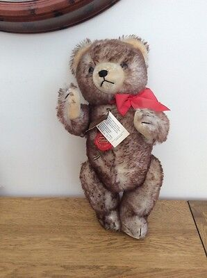 Teddy Hermann Jointed Wool Covered Plush Teddy Bear with Growler 451