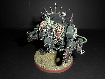 Warhammer Chaos Space Marine Nurgle Dreadnought.
