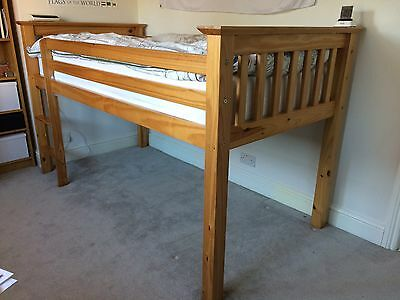M&S Solid Wood Cabin Bed Frame (no mattress)