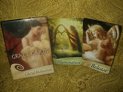 Grace Oracle Cards Deck By Cheryl Richardson - Boxed & Complete - Not Tarot