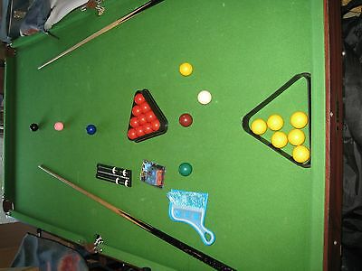 Half Size (Snooker and Pool) Table