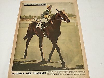 "1947 ""the Australasian Post""  Pic Of ""attley"""