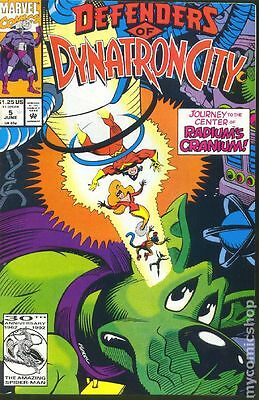Defenders of Dynatron City (1992) #5 VF