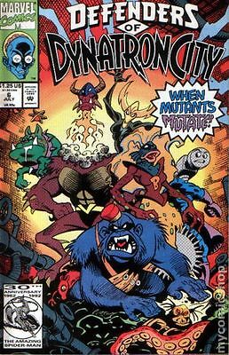 Defenders of Dynatron City (1992) #6 FN