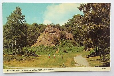 Postcard of Habberley Valley, Staffordshire