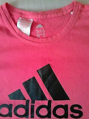 girls adidas t-shirt 11-12yrs