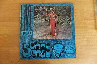 African Jazz/soul-Sunny Ade & His African Beats-Live Play-Rare English Issue