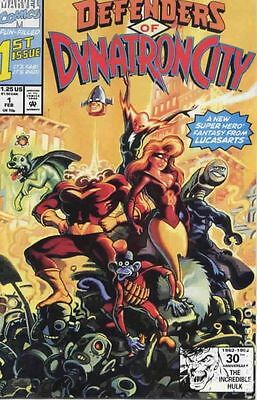 Defenders of Dynatron City (1992) #1 VF