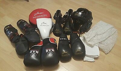 Tae kwon-do Boxing Martial arts equipment sparring kit