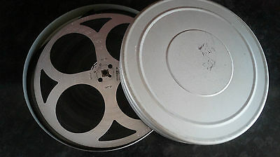Collection of 7 short Pathescope 9.5 films on Clydon Metal Spool & Can See List
